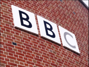 BBC brick wall